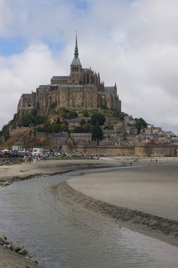 Imposing and magical Mont St Michel