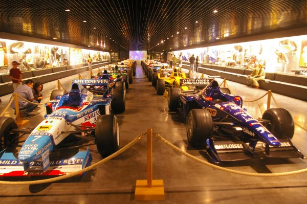 Impressive F1 car collection only a tiny part of the museum.