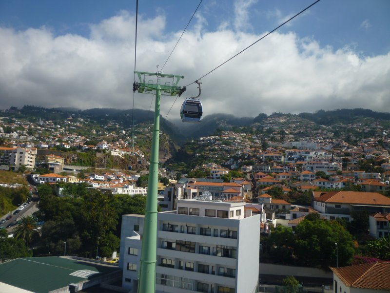 Cable car to Monte