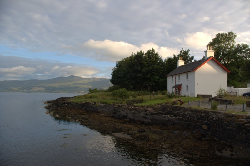 Shore Cottage, Lochaline - Our 'home' for the week