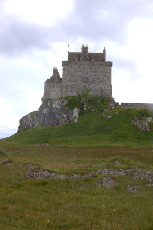 Impressive and imposing Castle Duart on Mull